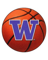 Washington Basketball Mat 26 diameter  by