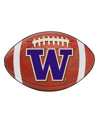 Washington Football Rug 22x35 by