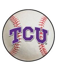 TCU Horned Frogs Baseball Rug by
