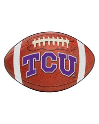TCU Horned Frogs Football Rug by