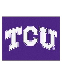 TCU Horned Frogs All Star Rug by
