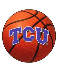 TCU Horned Frogs Basketball Rug by