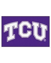 TCU Horned Frogs Starter Rug by