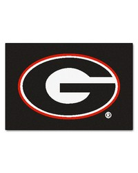Georgia Bulldogs Starter Rug by