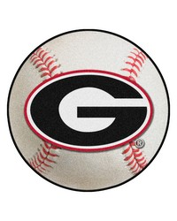 Georgia Baseball Mat 26 diameter 27 diameter by