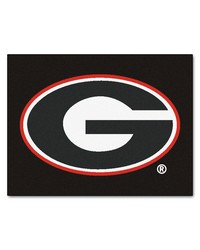 Georgia Bulldogs All Star Rug by
