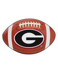 Georgia Football Mat 27 diameter by
