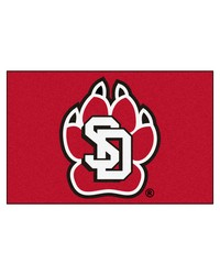 South Dakota Coyotes Starter Rug by