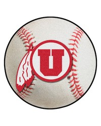 Utah Baseball Mat 26 diameter  by