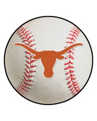 Texas Longhorns Baseball Rug by