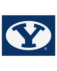Brigham Young Cougars All Star Rug by