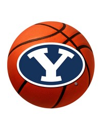 Brigham Young Cougars Basketball Rug by