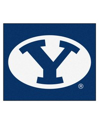 BYU Tailgater Rug 60x72 by