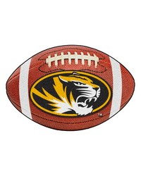 Missouri Tigers Football Rug by
