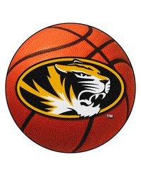 Missouri Tigers Basketball Rug by