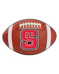 North Carolina State Wolfpack Football Rug by