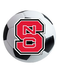 NC State Soccer Ball  by