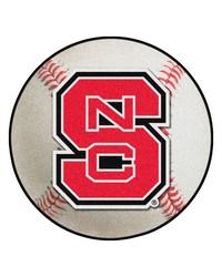 North Carolina State Wolfpack Baseball Rug by