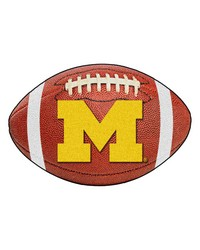 Michigan Wolverines Football Rug by
