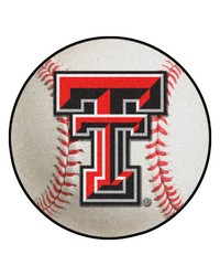 Texas Tech Red Raiders Baseball Rug by