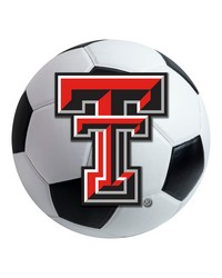 Texas Tech Soccer Ball  by