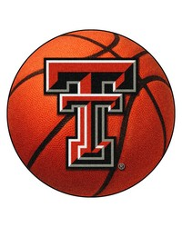 Texas Tech Red Raiders Basketball Rug by