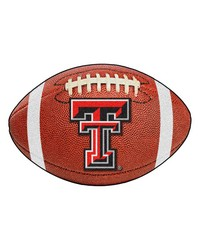 Texas Tech Red Raiders Football Rug by