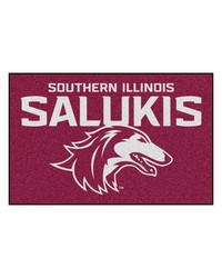 Southern Illinois Salukis Starter Rug by