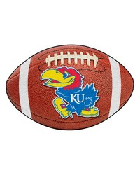 Kansas Jayhawks Football Rug by