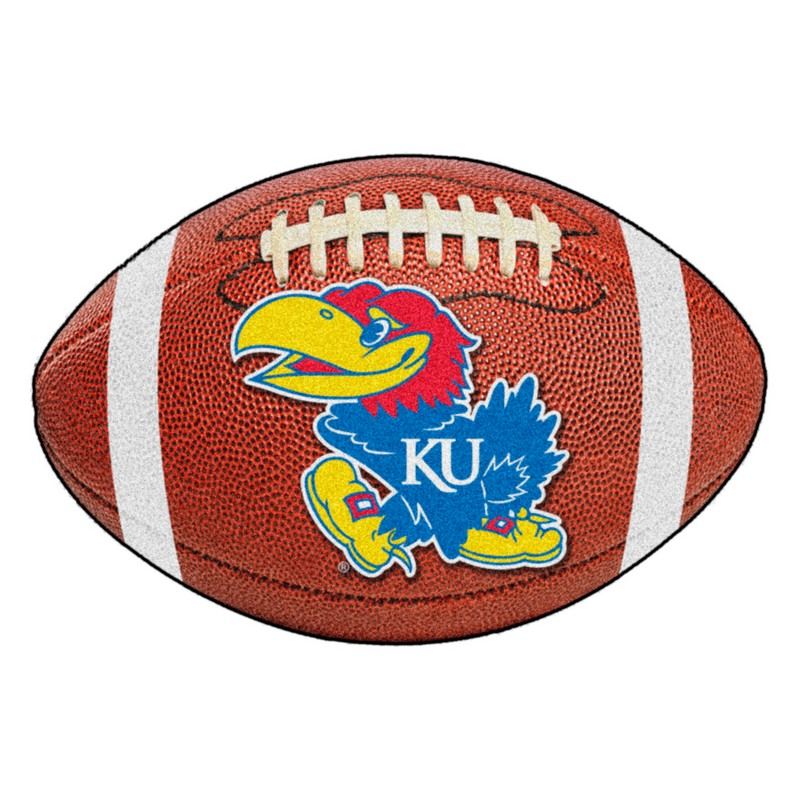 Kansas Jayhawks Football Rug