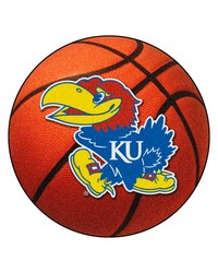 Kansas Jayhawks Basketball Rug by
