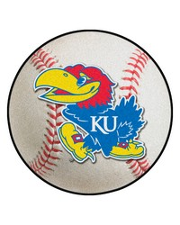 Kansas Jayhawks Baseball Rug by