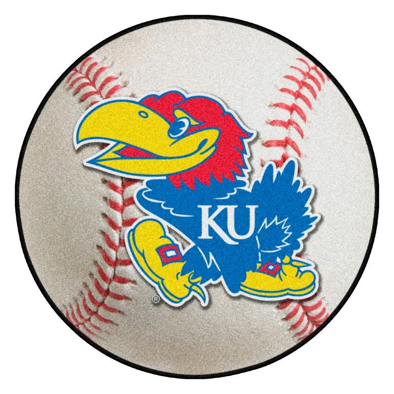 Kansas Jayhawks Baseball Rug Interiordecorating
