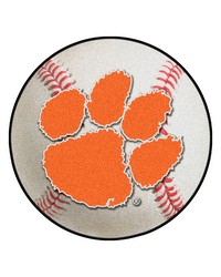 Clemson Tigers Baseball Rug by