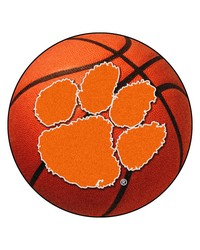 Clemson Tigers Basketball Rug by