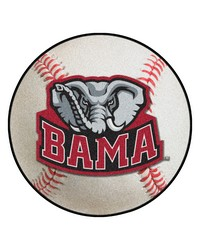Alabama Crimson Tide Baseball Rug by