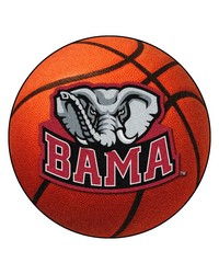 Alabama Crimson Tide Basketball Rug by