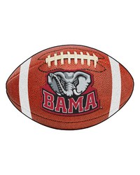 Alabama Crimson Tide Football Rug by