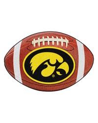 Iowa Hawkeyes Football Rug by