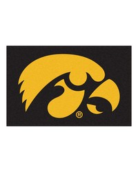 Iowa Hawkeyes Starter Rug by
