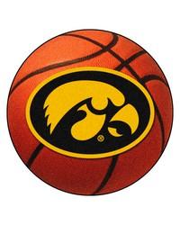 Iowa Hawkeyes Basketball Rug by