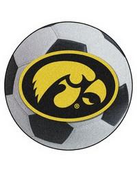Iowa Soccer Ball  by