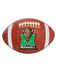Marshall University Football Rug by