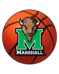 Marshall University Basketball Rug by