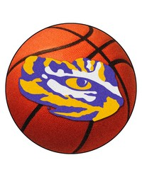 LSU Tigers Basketball Rug by