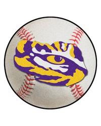 Louisiana State Baseball Mat 26 diameter  by