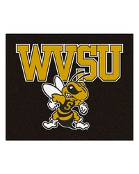 West Virginia State Tailgater Rug 60x72 by