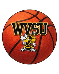 Fresno State Basketball Mat 26 diameter  by