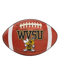West Virginia State Football Rug 22x35 by