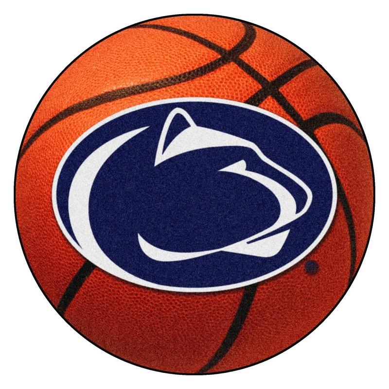 Large Basketball Area Rug: Penn State Lions Basketball Rug